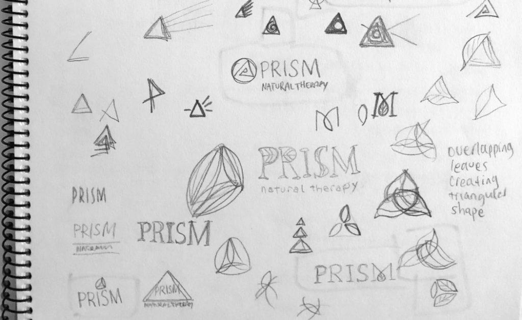 Prism Logo Sketch