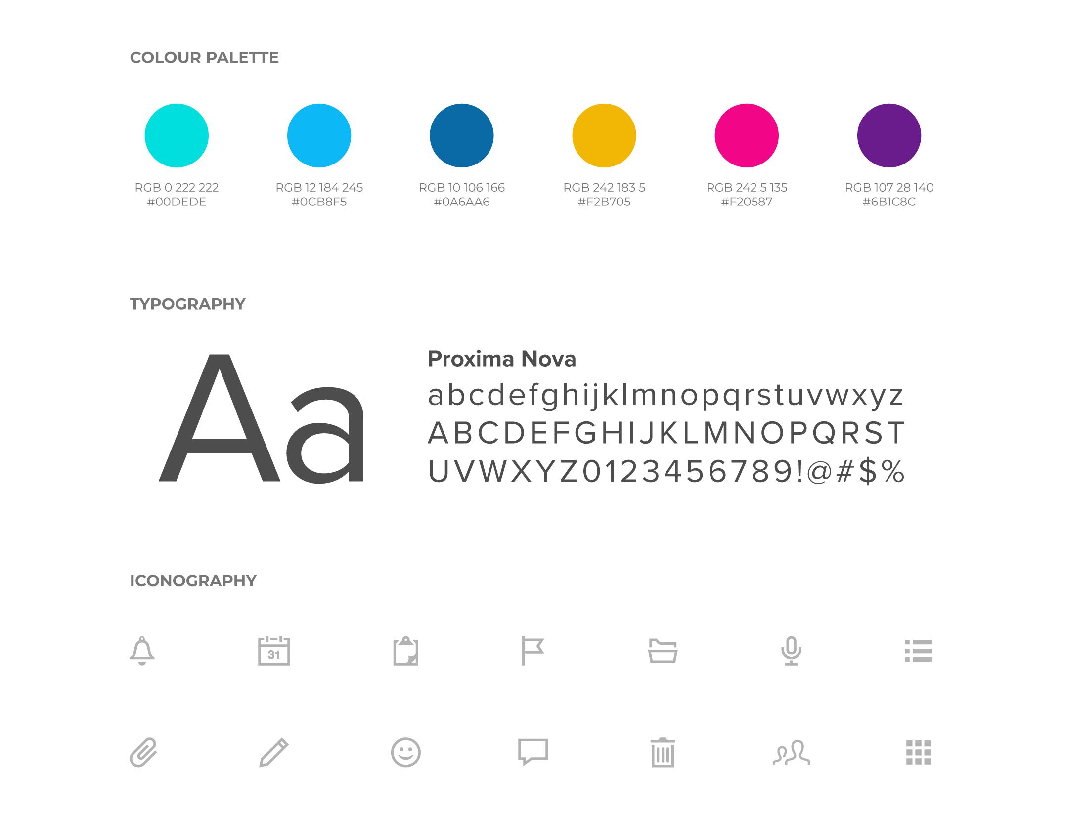 Effica Branding Elements